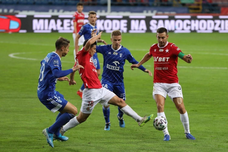 Jesienią Wisła Kraków zagrała koszmarnie słabo w meczu z Wisłą Płock