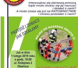 Oleśnica: Dołącz do ratowników i pomagaj innym