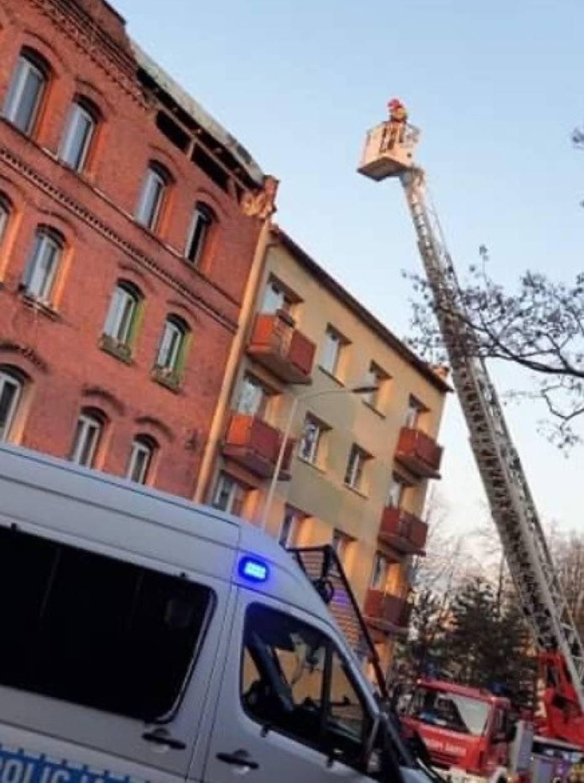29 osób ewakuowanych z kamienicy w Chorzowie