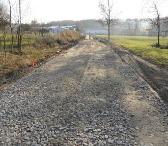 Przebudowa drogi w Kamieniu w gminie Międzybórz