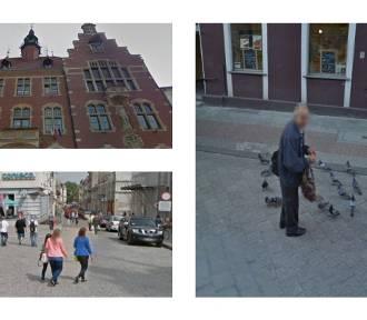 Ulica Krakowska i Rynek w Tarnowskich Górach 10 lat temu