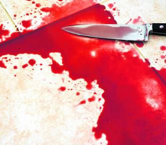 42-latka za kratkami za kolejny atak nożem
