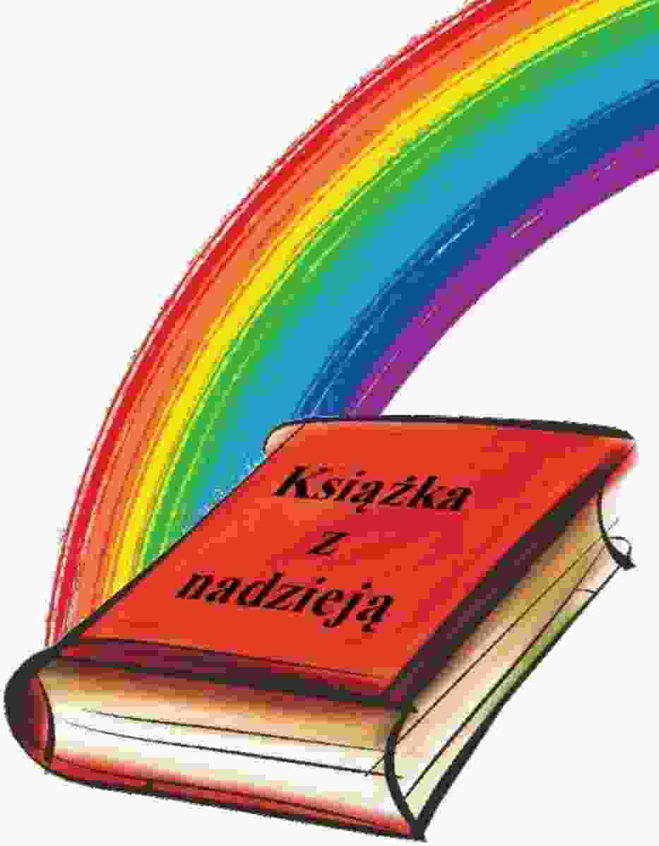 """Logo akcji """"Książka z nadzieją"""""""