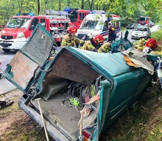 Aktualizacja!!! Śmiertelny wypadek pod Rawą Mazowiecką, bilans ofiar wzrósł
