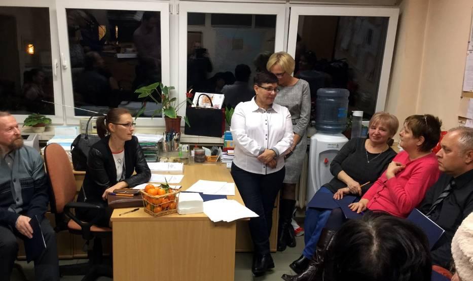 Członkowie Stowarzyszenia podczas spotkania założycielskiego