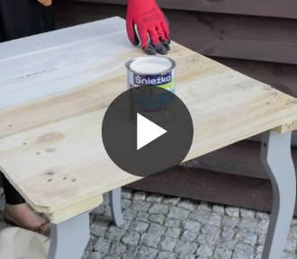 Jak pomalować stolik i stworzyć z niego elegancki mebel? [WIDEO]