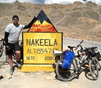 Pleszewianin na rowerze w Himalajach! [FOTKI]