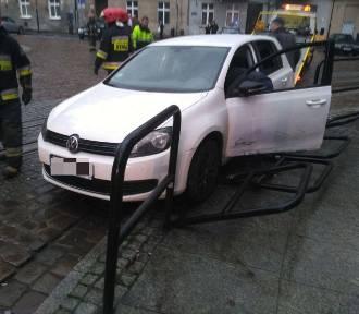 Dwa groźne zdarzenia na drogach w regionie. Jedna osoba została poszkodowana