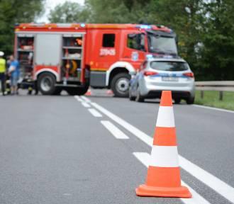 Wierzbno: Śmiertelny wypadek na drodze krajowe nr 24 [ZDJĘCIA]