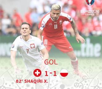 Polska - Szwajcaria na Euro 2016. Relacja LIVE [ZDJĘCIA]