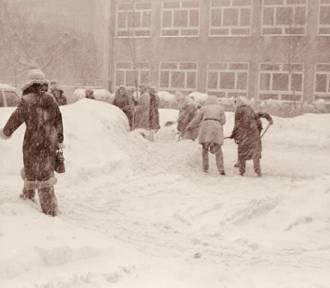Zima stulecia z 1978 roku. Pamiętacie ją? [ARCHIWALNE ZDJĘCIA]