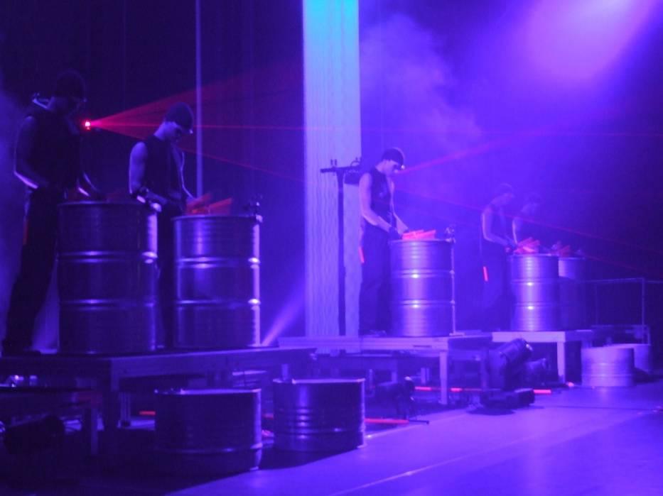 Bębniarze wiedeńskiego Drumatical Theatre mają na swoim koncie występy na największych imprezach sportowych
