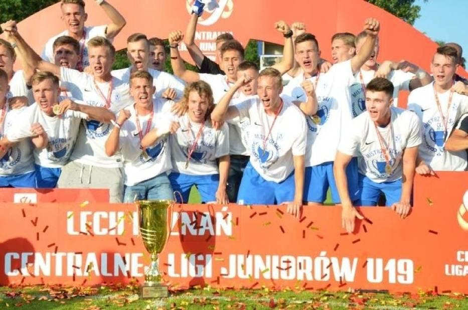 Lech Poznań w sezonie 2017/18 zdobył mistrzostwo Polski w Centralnej Lidze Juniorów U-19