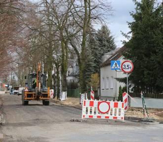 Trwa remont ulicy Lipowej w Wolsztynie - [Zdjęcia]