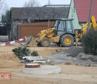 Trwa przebudowa krajówki i budowa dwóch rond w Smolicach [ZDJĘCIA]