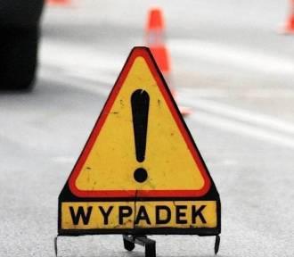 Wypadek w Ujściu. Droga nr 182 zablokowana