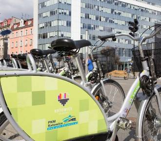 W Katowicach otwarto kolejne stacje rowerowe. Znajdziemy przy nich 24 rowery