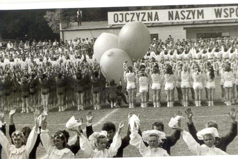Dożynki Centralne Marszew 1988