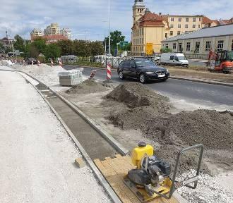 Ścieżki rowerowe na Kruszwickiej w Bydgoszczy w większości już gotowe [zdjęcia]