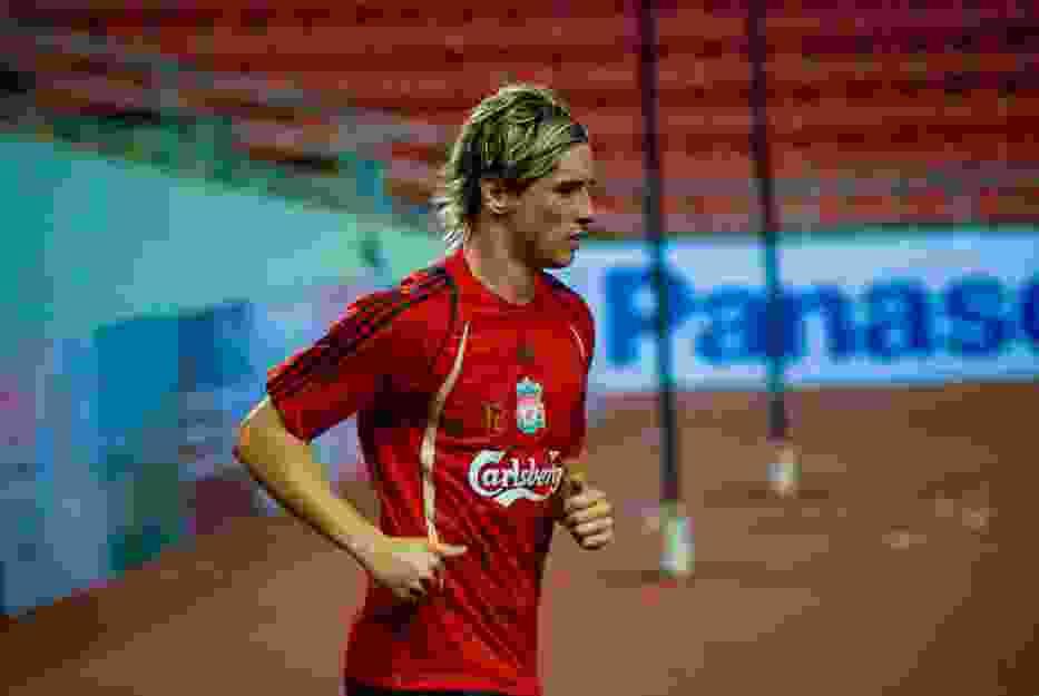 Najdroższy piłkarz zimowego okienka transferowego w 2011 roku, jeszcze w koszulce Liverpoolu