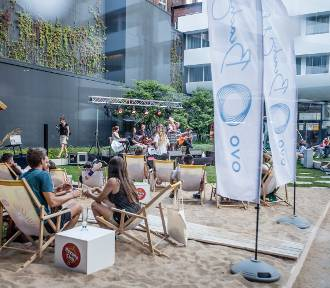 Jazzowe darmowe koncerty na patio OVO Wrocław