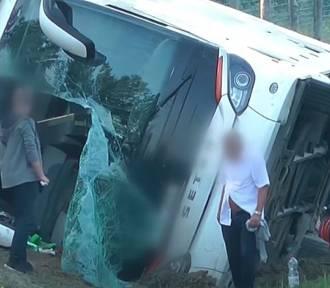 Wypadek autokaru ze Śląska na Węgrzech. Są zabici i ranni