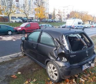 Pijani kierowcy w akcji. Rozbity autobus i siedem aut! ZDJĘCIA
