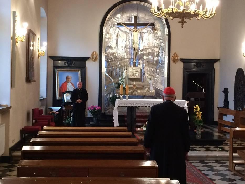 Abp Marek Jędraszewski i kardynał Stanisław Dziwisz