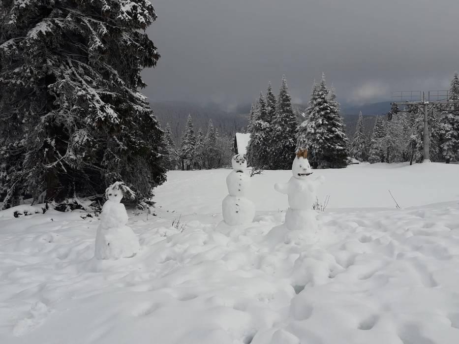 Śnieg na Dolnym Śląsku