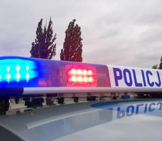 Pijany taksówkarz wjechał w bariery na Krakowskiej, wiózł 2 pasażerów