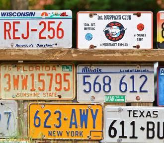 Nowy format tablic rejestracyjnych. Od 1 lipca zmiany. Amerykańskie tablice legalne