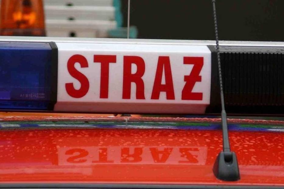 Żory: Pożar samochodu na osiedlu Księcia Władysława