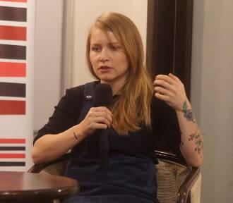 Spotkanie autorskie z Dorotą Masłowską w Inowrocławiu [zdjęcia]