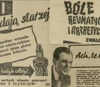 Reklamowe hity ze starych gazet. Metody na łysinę, pot i... piegi!
