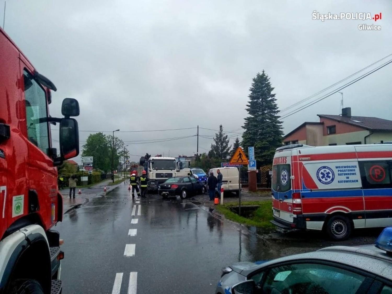 Tragiczny wypadek w Łanach Wielkich