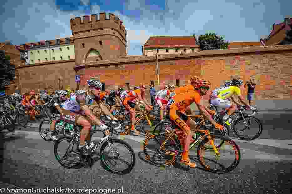 II etap Tour de Pologne 2014: Toruń - Warszawa