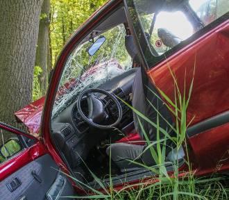 Wziął dziecko na przejażdżkę autem po lesie. Był kompletnie pijany!