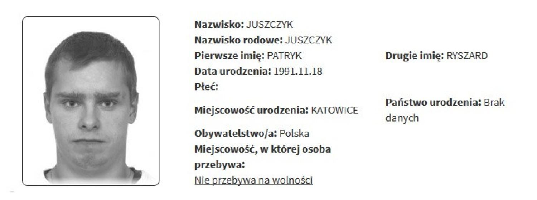 Rejestr pedofilów i gwałcicieli SIERPIEŃ 2019