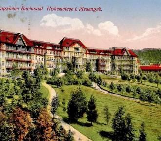 Zachwycający obiekt! Zobacz Szpital Bukowiec w Kowarach na dawnych zdjęciach!