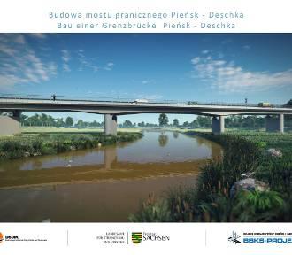 Most graniczny Pieńsk- Deschka coraz bardziej realny. Niemcy przygotowują dokumenty