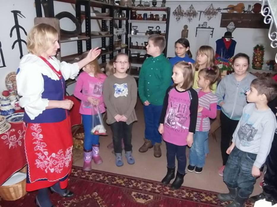 W Izbie Regionalnej Halina Paczkowska