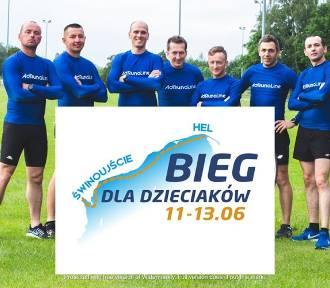 Biegacze z gminy Śmigiel przebiegli trasę od Świnoujścia do granicy z Rosją w Nowej Karczmie [ZDJĘCIA]