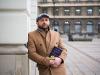Borys Szyc ukrył w Warszawie pięćset książek!