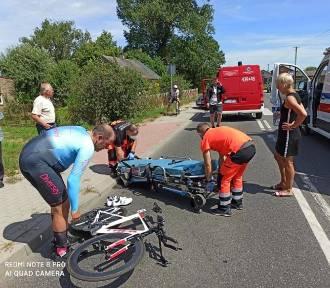 Oleśniczanin potrącony podczas wyścigu kolarskiego. Sprawca zbiegł z miejsca zdarzenia!