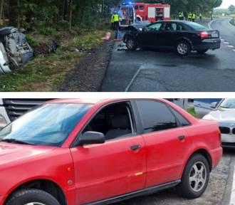 Niebezpiecznie na drogach powiatu. Najpierw 29-latek złapany po pościgu i wypadek