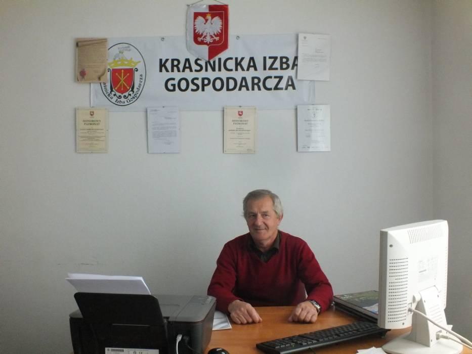 Gościem Dnia był Wiesław Michałowski, prezes Kraśnickiej Izby Gospodarczej