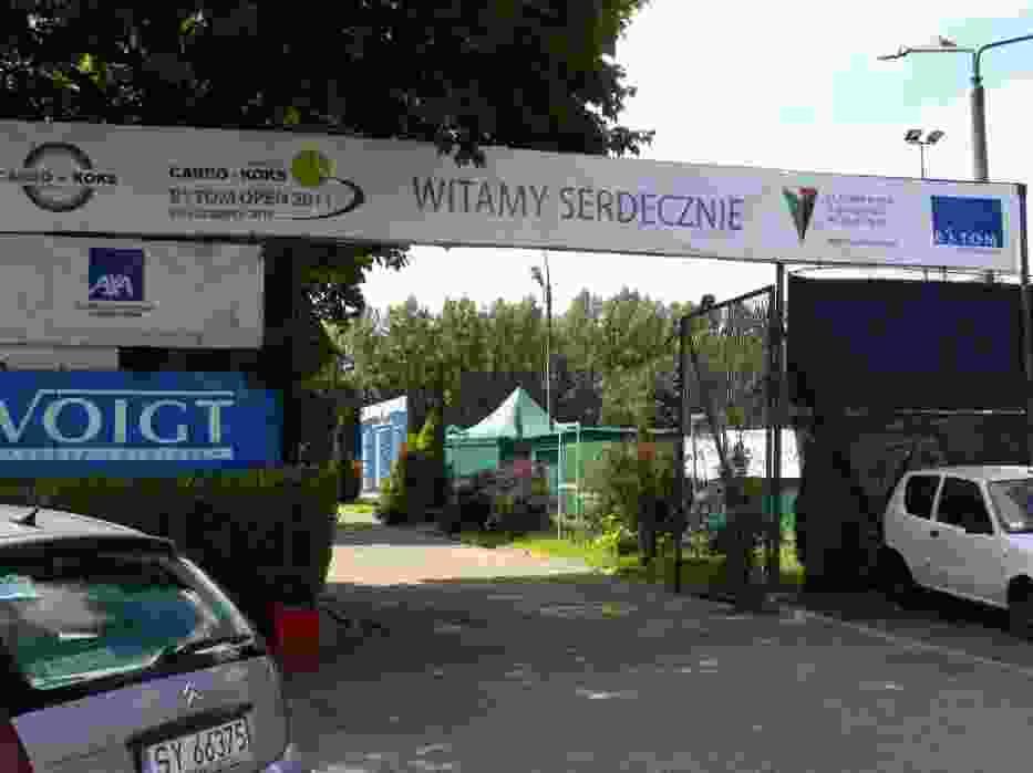 Korty tenisowe przy Tarnogórskiej 5