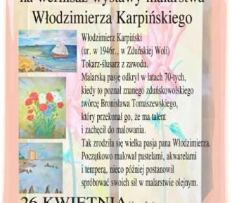 Wystawa malarstwa Włodzimierza Karpińskiego