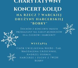 Charytatywny Koncert Kolęd w pałacu w Małkowie