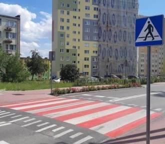 Nowe przejście dla pieszych w Stefanowie